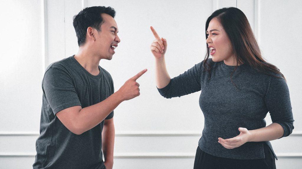 disagreement between two people